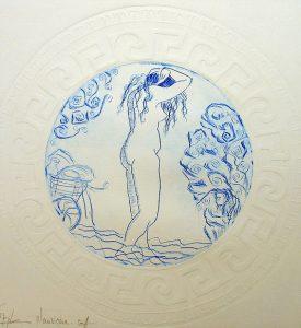 Nausicaa sortant du bain